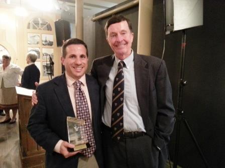 The Distinguished Service Care Award 2015 Dr. David Mitola, DDS Byard Clemmons - President